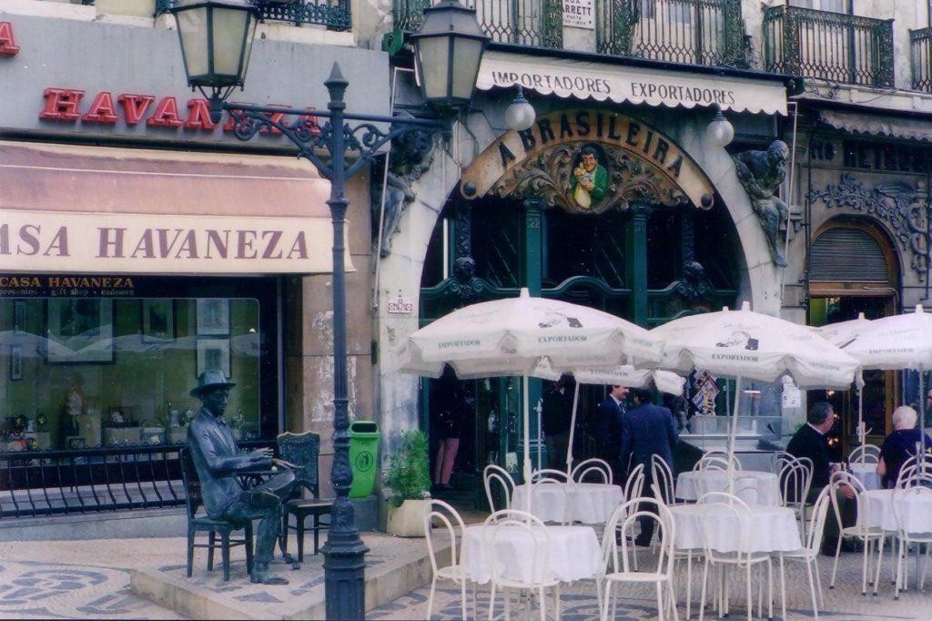 Café A Brasileira in Lisbon