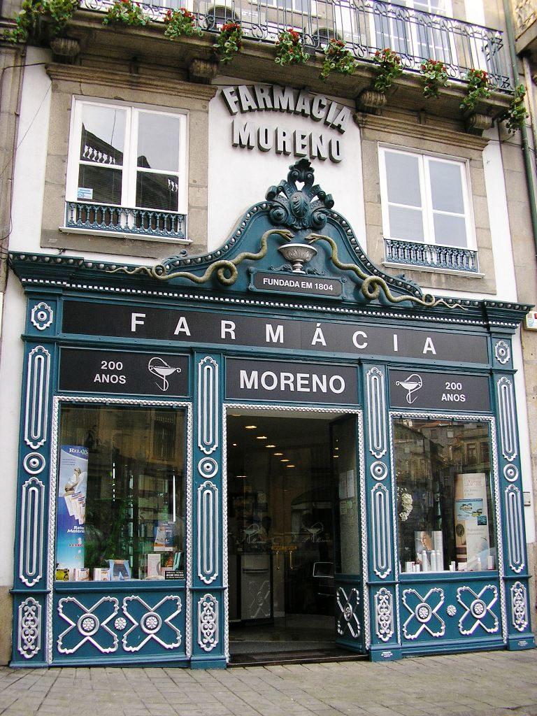 Farmacia Moreno, Porto